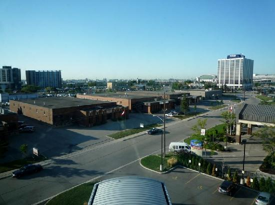 Hilton Garden Inn Toronto Airport: View from the room