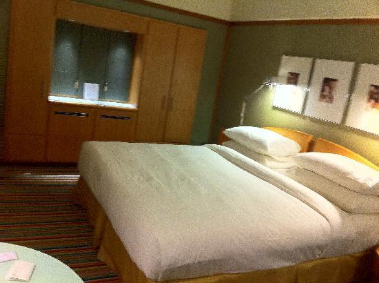 โรงแรมแพน แปซิฟิค สิงคโปร์: Club room
