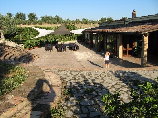 Tenuta La Maddalena: Terrace/entrance