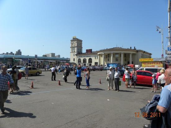 เคียฟ, ยูเครน: Train station