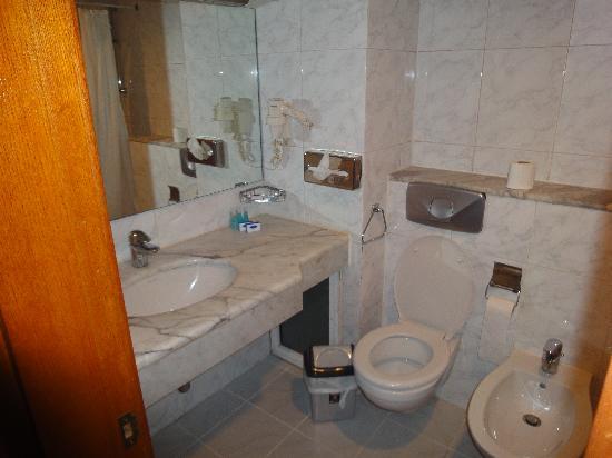 Dana Plaza Hotel: Baño