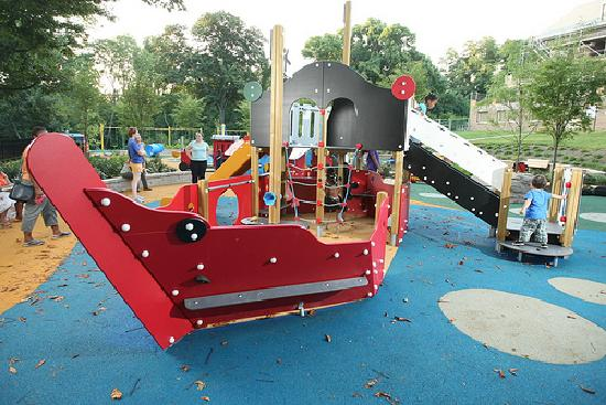 Smith Kids Play Place (Playground & Mansion): Pirate Ship in Tot-Lot
