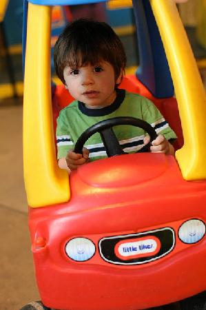 Smith Kids Play Place (Playground & Mansion): Cars and Tricycles in Smithville