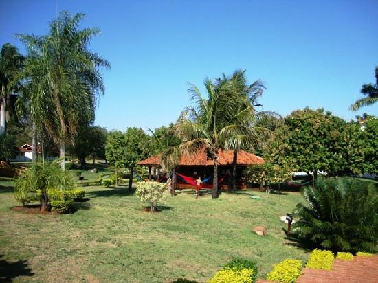 Zagaia Eco-Resort Hotel: gardens and hamocks