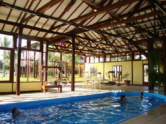 Zagaia Eco-Resort Hotel: heated inside pool and gym