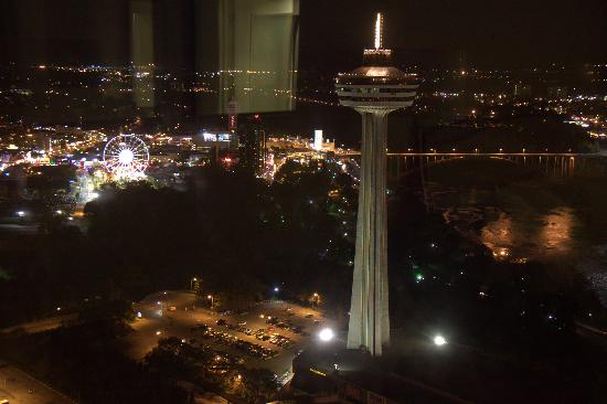 Skylon Tower: Night view.