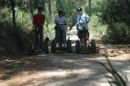 Silencetour Segway Nature Guided Tours: Never too old!