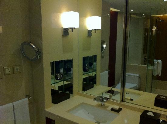 โรงแรมไฮแอทรีเจนซี่ ฮ่องกง จิมซาจุ่ย: Bathroom