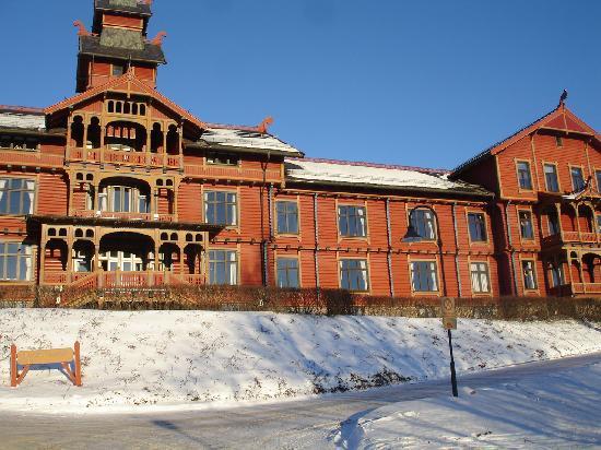 Scandic Holmenkollen Park: view hotel