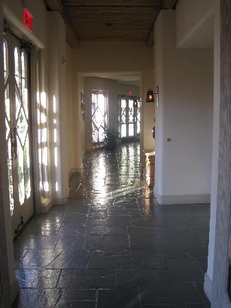 The Wigwam: One of the hallways int he main building