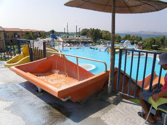 LABRANDA Marine Aquapark Resort: View of all pools, pool bar