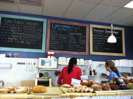 Lighthouse Bagels and Deli: Lighthouse Bagels