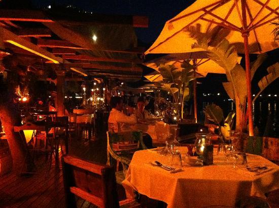 Anjuna Beach: The restaurant - fantastic!