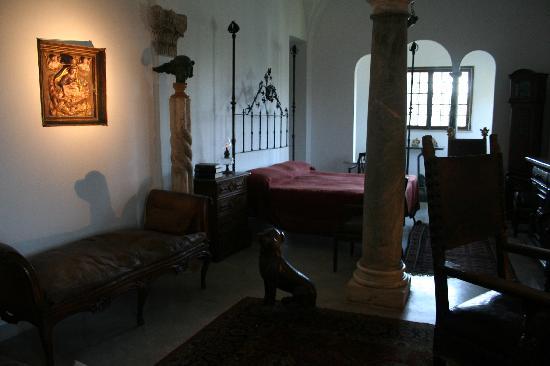 Villa San Michele: La camera di Axel Munthe