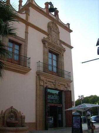 Asadito: Eingang von der anderen Straßenseite