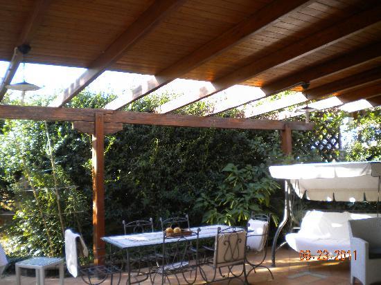 Magnolia House: Il patio dell'eden