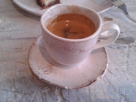 Mama Framboise: café