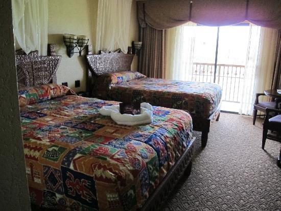Disney's Animal Kingdom Lodge: AKL Room 4355