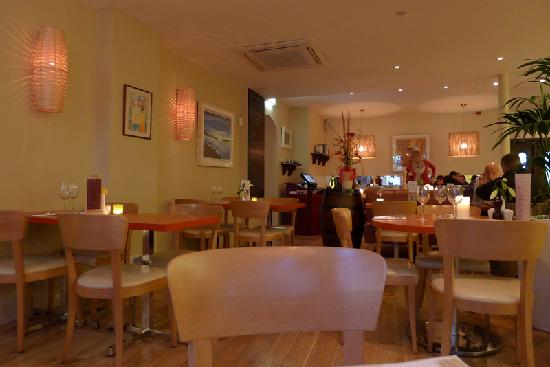 Interior picture of maxwells restaurant galway