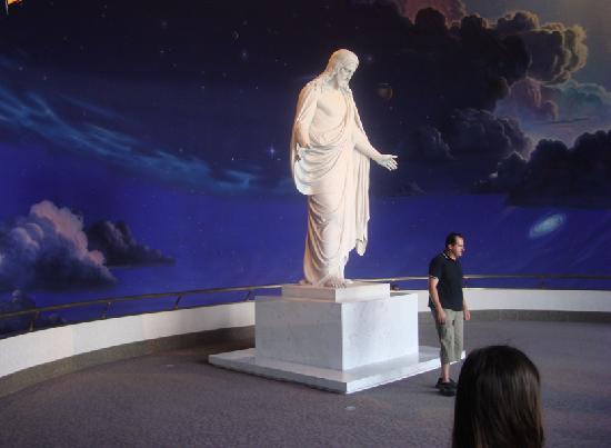 Temple Square: Statue