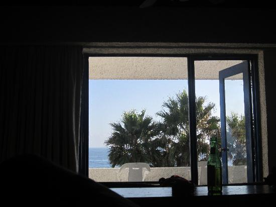 Las Rocas Resort & Spa: View from the bed