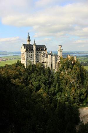 Bus Bavaria Neuschwanstein Castle Tours: Neuschwanstein Castle - September 2011