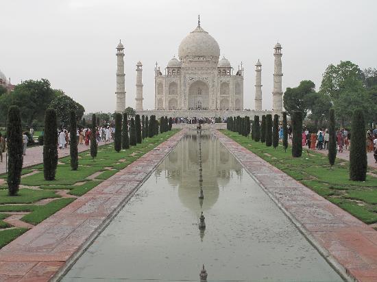 Taj Mahal: ベストポジションショット