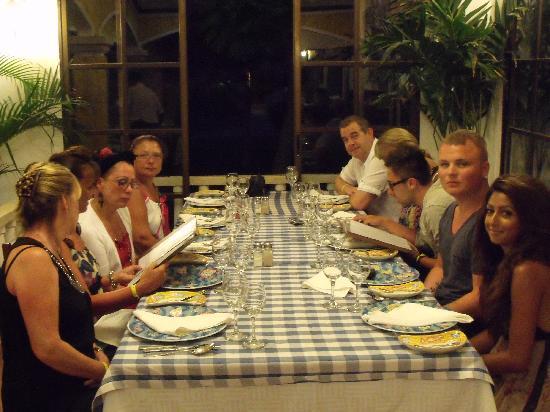 Brisas Guardalavaca Hotel: meal at fish restaurant