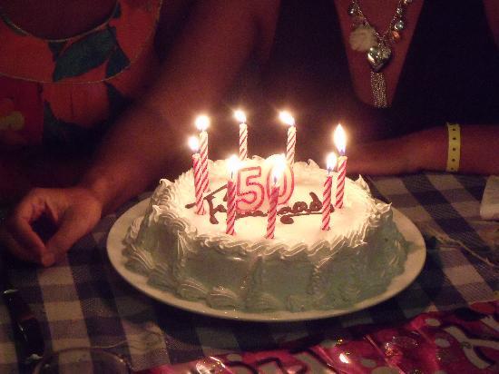 Brisas Guardalavaca Hotel: sisters birthday cake