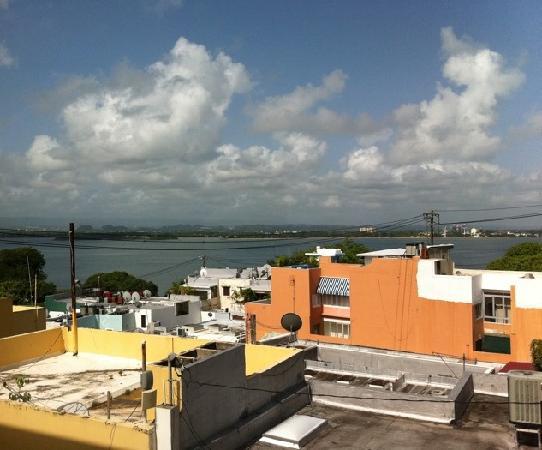 Hotel El Convento: View from room balcony