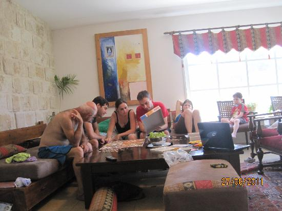 Vila Bakfar: making a puzzle