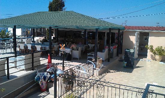 Saoulas Studios: Bar area