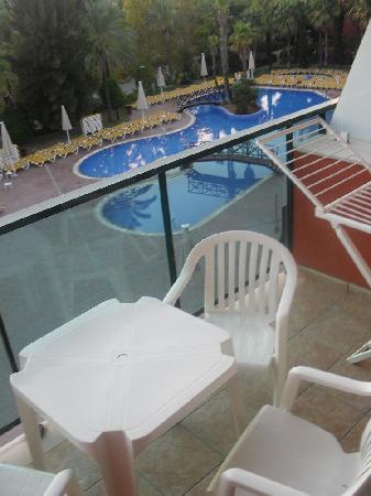 Ohtels Vil.la Romana: Pool View/Balcony