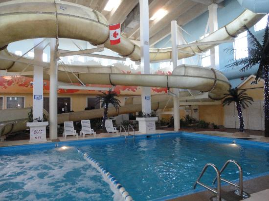 The Waterslide And Pool Picture Of Best Western Seven