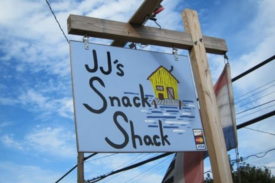JJ's Snack Shack: Sign to watch for on Route One