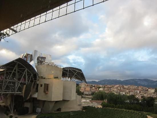 Hotel Marques de Riscal a Luxury Collection Hotel: view looking slightly to the left