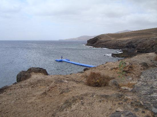 Hesperia Lanzarote: The jetty belonging to the hotel.