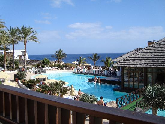 Hesperia Lanzarote: The view from our suite.