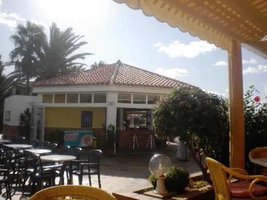 Insotel Hotel Formentera Playa: chiringuito