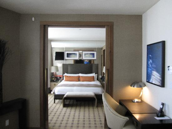Loden Hotel: Looking To Bedroom From Living Room