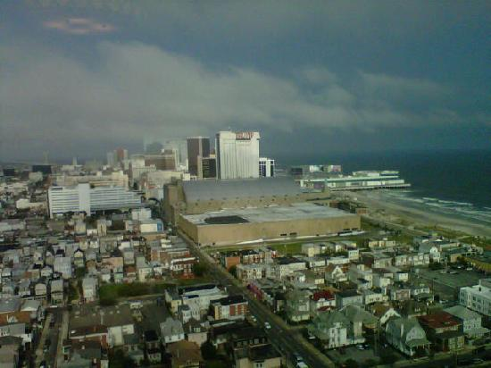 Tropicana Atlantic City: view from the Trop 6th floor