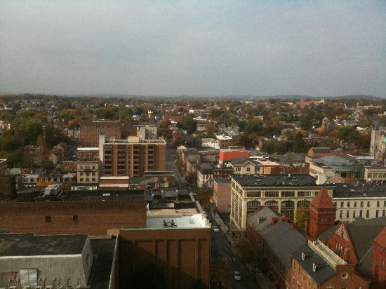 Lancaster Marriott at Penn Square: View from the room