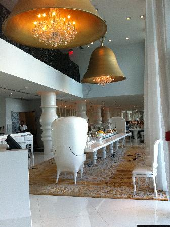Mondrian South Beach Hotel: Restaurant