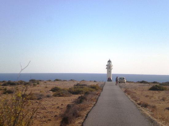 Es Cap de Barbaria Lighthouse: verso il Faro.