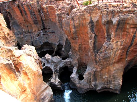 Blyde River Canyon Nature Reserve: Bourke's luck potholes