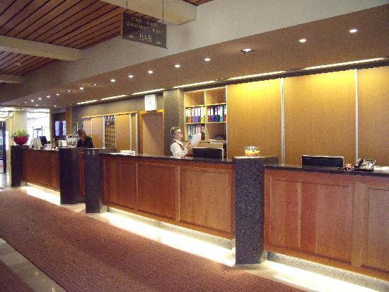 Park Hotel Brugge: Reception