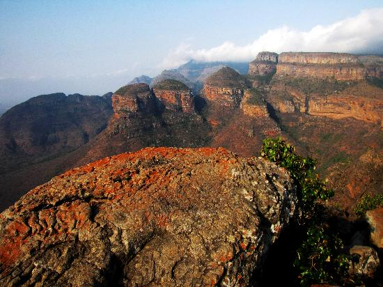 Blyde River Canyon Nature Reserve: three rondavels