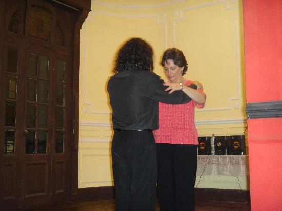 Tango Alejandro Gee: Perfect setting with the perfect teacher