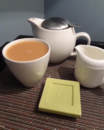 Omni Bedford Springs Resort: Morning Tea