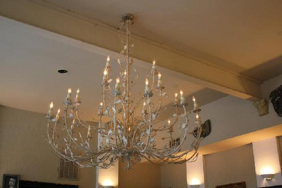 The Bistro at Market and Grove: Chandelier
